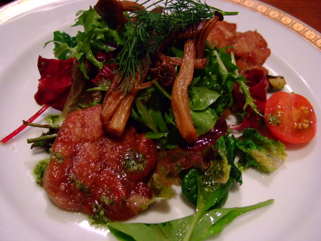 Mのディナー もはやフレンチ! 神山町 「洋食の店 ア・ラ・カルト」