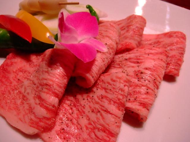 Mのディナー 超高級焼肉店 ホテルニューオータニ大阪 「叙々苑 游玄亭」