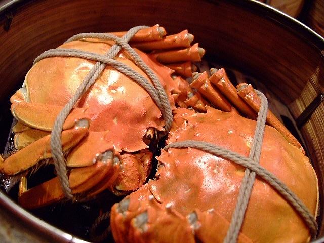 Mのディナー 大好きなお店でいただく絶品上海蟹 北区池田町 「双龍居」