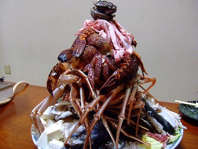 Mのディナー 何度食べても感動の魚介マウンテン 弁天町 「みや乃」