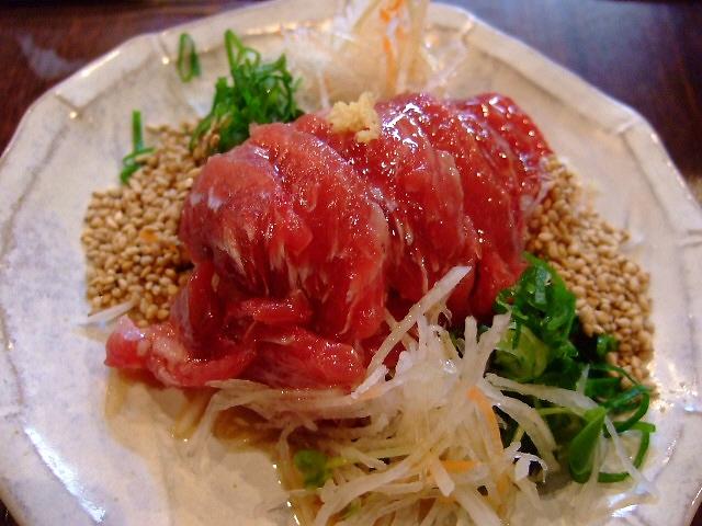 Mのディナーその1 新鮮なマグロが安い屋台感覚のお店 中津 「中津1丁目まぐろや」