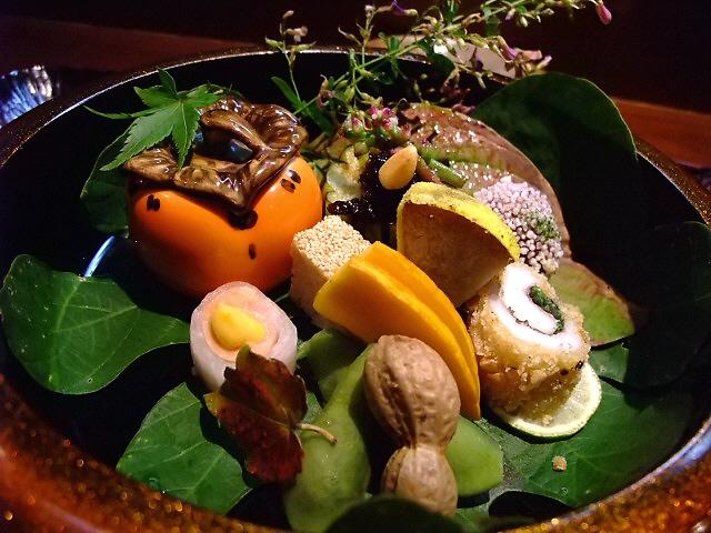 Mのディナー やなもりベジタブルと和食の名店の素晴らしいコラボ! 豊中市 「よし乃」