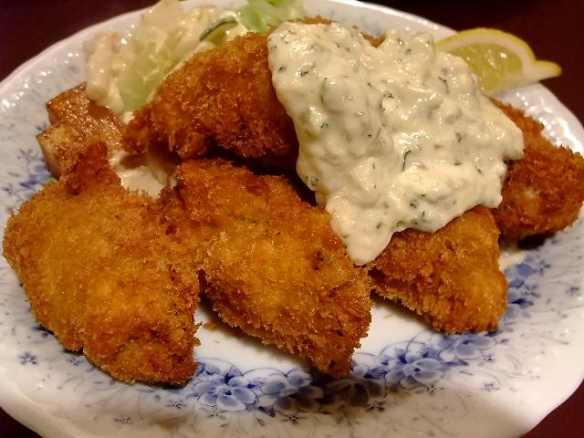 Mのディナーその1 間もなく食べ納めです 堺筋本町 「レストラン 艸葉」
