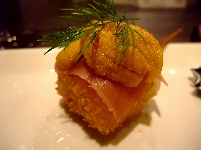 Mのディナー 何度行っても素晴らしい感動をいただけます! 北新地 「和洋串 PANKOYA」