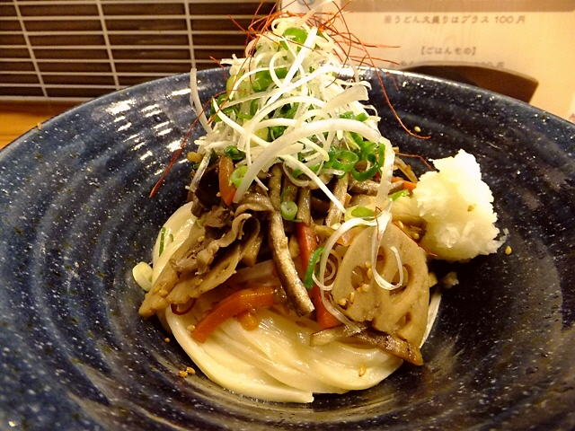 Mのディナー 情熱グループから新店が誕生します! 尼崎市 「うどん工房 悠々」