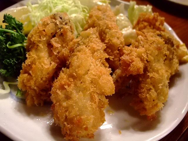 Mのディナー やっぱりここのカキフライは最強でした! 東京 「三州屋 銀座店」