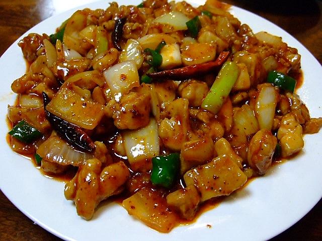 Mのディナー その2 韓式中華は美味しいのですが・・・ 生野区 「紫金城」