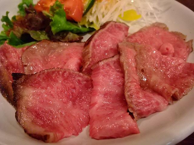 Mのディナー お肉もソースも旨すぎます! 西成区 「Revo」