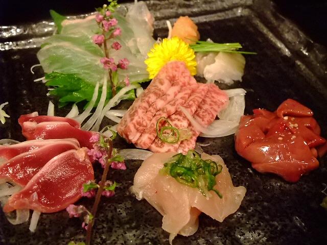 Mのディナー 新鮮な魚も食べられるようになりました! 恵美須町 「ぶえの」