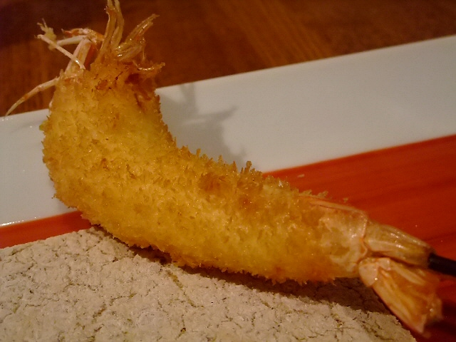 Mのディナー 久しぶりの高級串かつに大満足! 日本橋 「六覺燈」