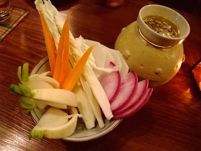 Mのディナー  やなもりベジタブルと人気イタリアンの絶妙コラボ 福島 「福島 焼野菜 菜の音」