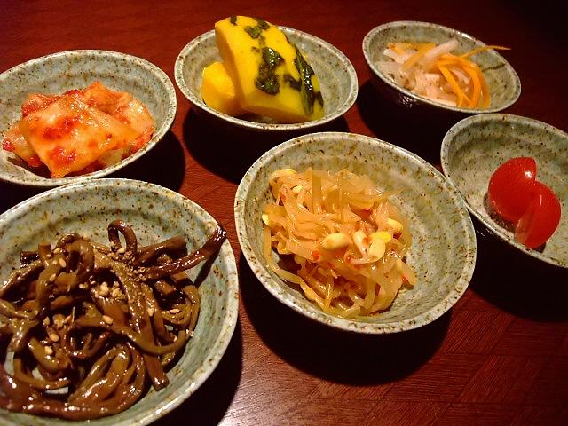 Mのディナー 無料の突き出しも新メニューももつ鍋も全てが旨すぎました! 昭和町 「ぼん」