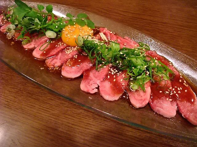 Mのディナー お肉も炭水化物も食べ過ぎです・・・ 西成区 「Revo」