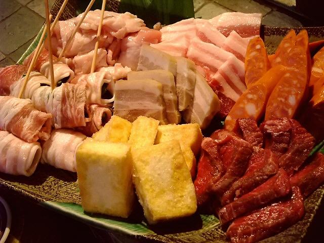 Mのディナー 沖縄食材のお値打ちBBQが楽しめます! 尼崎市 「旬魚酒菜 回」