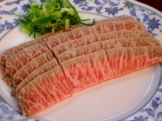 Mのディナー 超レアな絶品の伊賀肉は最高です! なんば 「弁慶」