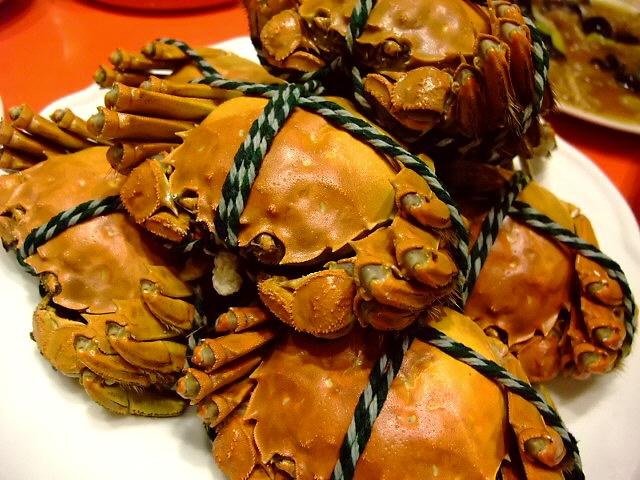 Mのディナー 今が旬の上海蟹と新メニューは絶品でした! 北区池田町 「双龍居」