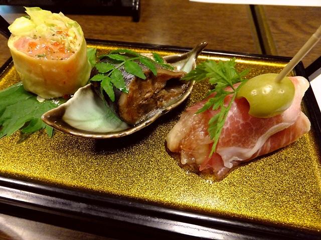 Mのディナー  もはやうどん屋さんの域を超えています!  北区豊崎  「情熱うどん 讃州」