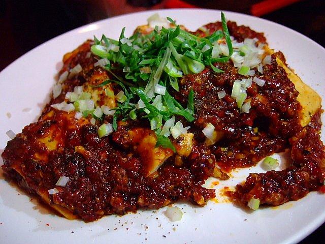 Mのディナーその2 超激辛鬼マーボに挑戦しましたが・・・ 福島 「香港小菜LEE」