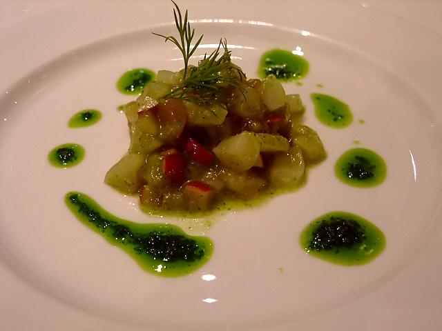 Mのディナー レトロな雰囲気でいただく絶品イタリアン 南船場 「堺筋倶楽部 アンブロシア」