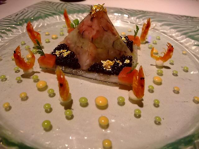 Mのディナー 関西初進出の名シェフの真髄を味わいました! ホテルニューオータニ大阪 「サクラ」