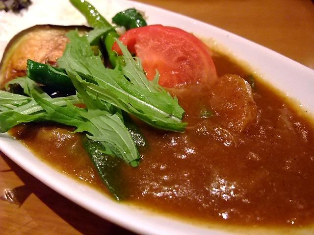 Mのディナー 京野菜のフレンチカレーが旨い! 京都 「Tawawa」