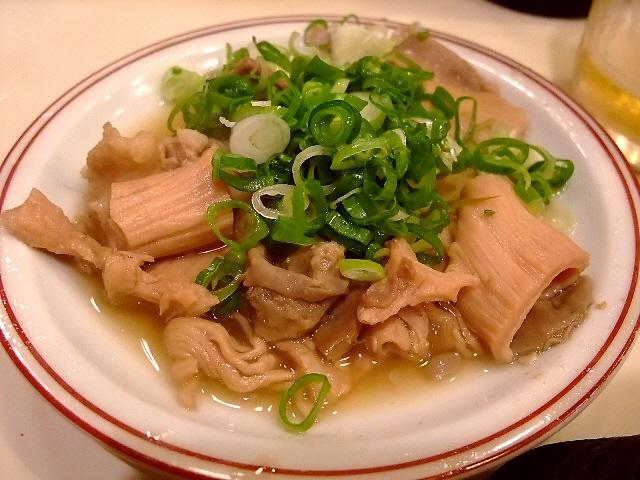 Mのディナー もつ好きにはたまらないお店です 淀川区西中島 「和風もつ料理 あらた」