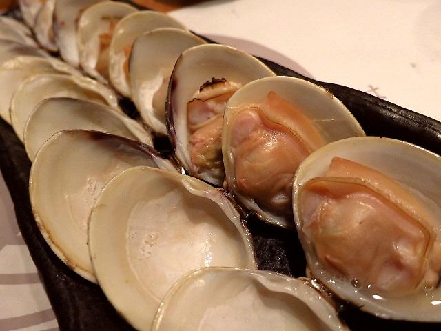 Mのディナー 珍しい はまぐり専門店ではまぐりを食べ尽くし!  阪急32番街  「はまぐり庵」
