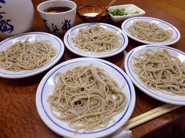 Mのディナー  風味が良くて喉越しも爽快!  兵庫県  「出石皿そば 茂兵衛」