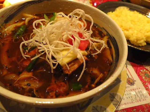 Mのディナー  久しぶりのスープカレーはやっぱり旨かった!  浪速区  「マジックスパイス なにわ店」