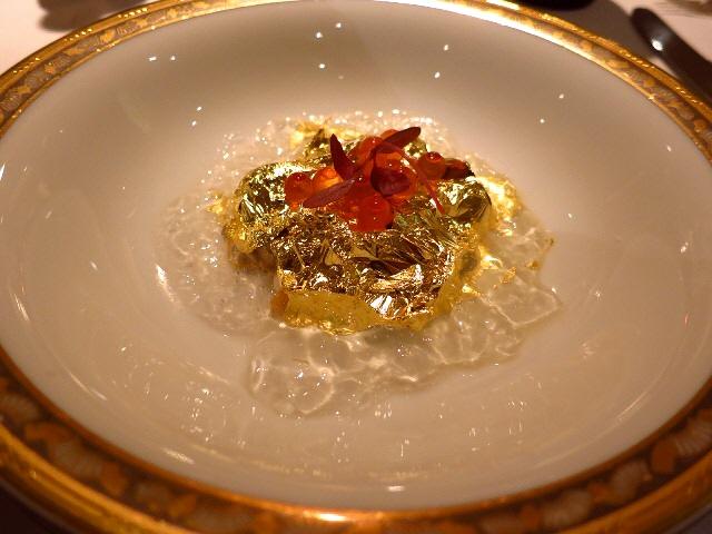 Mのディナー  やなもり農園情熱野菜と天才小出シェフの夢のコラボ!  ホテルニューオータニ大阪  「サクラ」