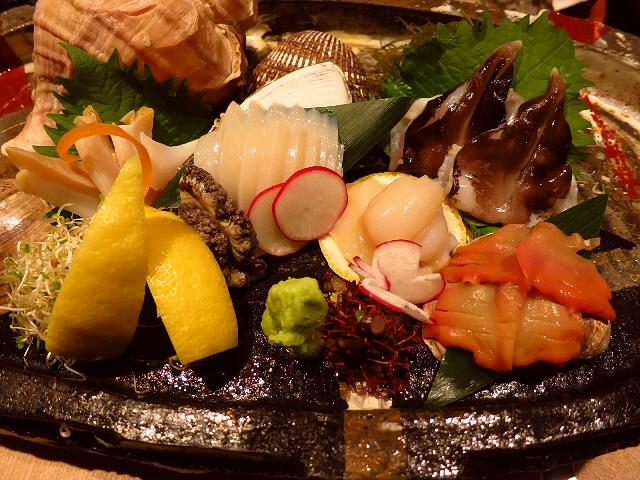 Mのディナー  お洒落な空間であらゆる貝が食べつくせます!  心斎橋  「えぽっく」