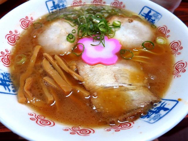Mのディナーその1  初めての和歌山ラーメン食べ歩きツアーはやっぱりこのお店から!  和歌山県  「井出商店」