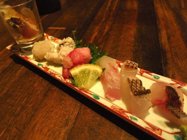 Mのディナー  旬の鮮魚が満喫できる大人気店  福島区 「旬野菜 聖護院 (しょうごいん)」