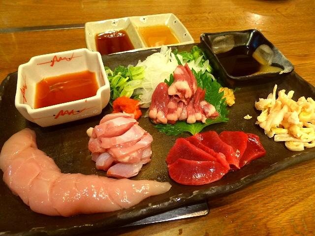 Mのディナー  大満足の特別コース!鶏も牛も絶品です!  中央区博労町  「宮崎郷土料理 どぎゃん」
