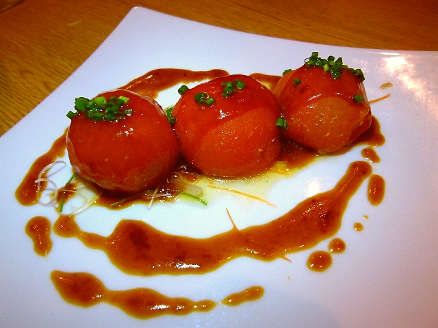 Mのディナー  創作旬野菜料理の超お値打ち宴会コース!  西天満  「かわず」