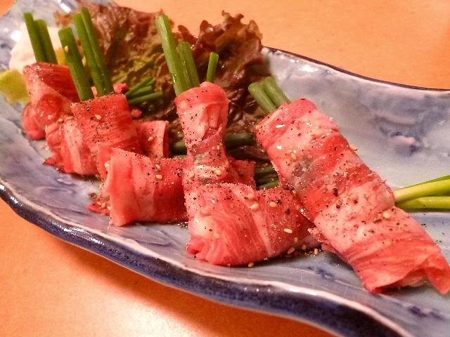Mのディナー  高級肉がとてもリーズナブルに食べられる驚くべき人気店!  福島区  「彩苑 竜平」