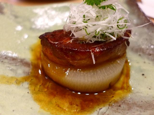 Mのディナーその2  オープンが待ち遠しいです!  グランフロント大阪  「日本酒バル さわら」