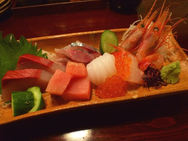 Mのディナー  地元の魚介類と郷土料理と串焼きが絶品の雰囲気抜群の居酒屋  石川県金沢市  「たかじ」