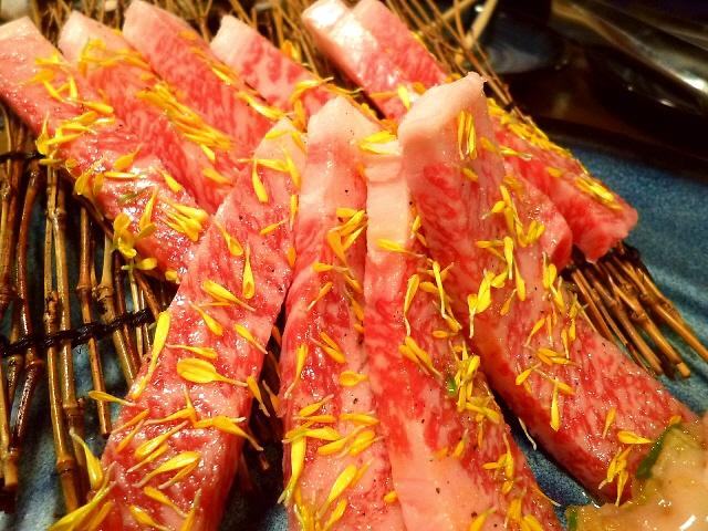 Mのディナー  高級なお肉がリーズナブルにいただける素晴らしくお値打ちなコースです!  北新地  「清次郎」