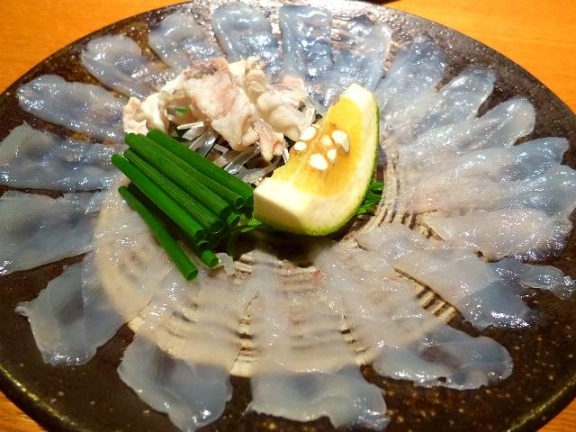 Mのディナー  天然のとらふぐは甘みと歯ごたえが抜群です!  山口県  「和風料理  高木」