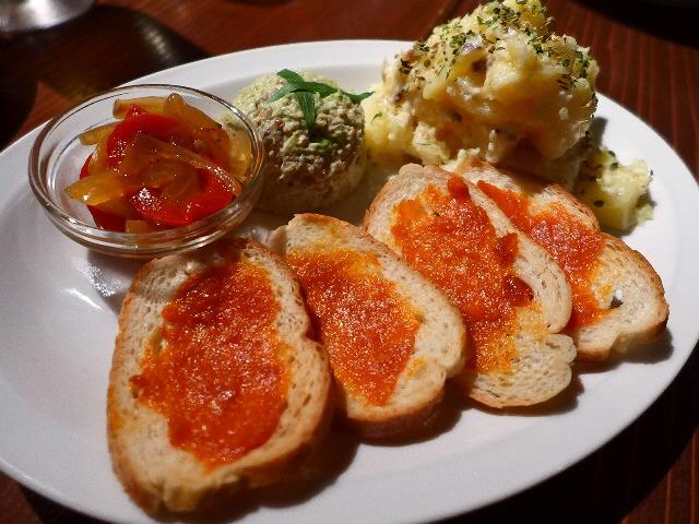 Mのディナー  居心地抜群の隠れ家で本格スペイン料理が楽しめます!  福島区  「トレド」