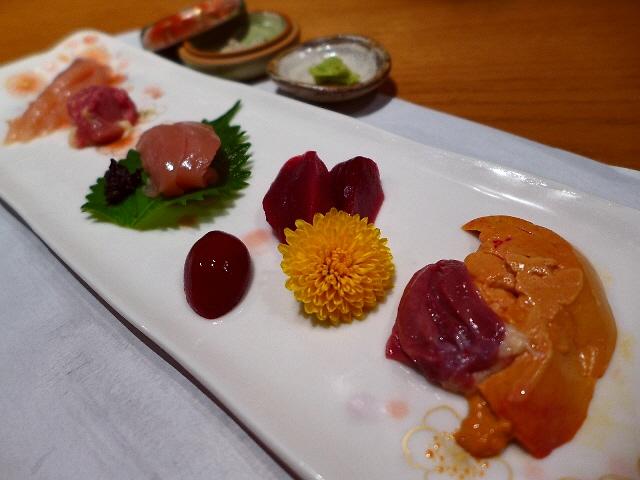 Mのディナー  淡海地鶏と名古屋コーチン食べ尽くしの夢のようなコースをいただきました!  滋賀県  「じどりや 穏座」