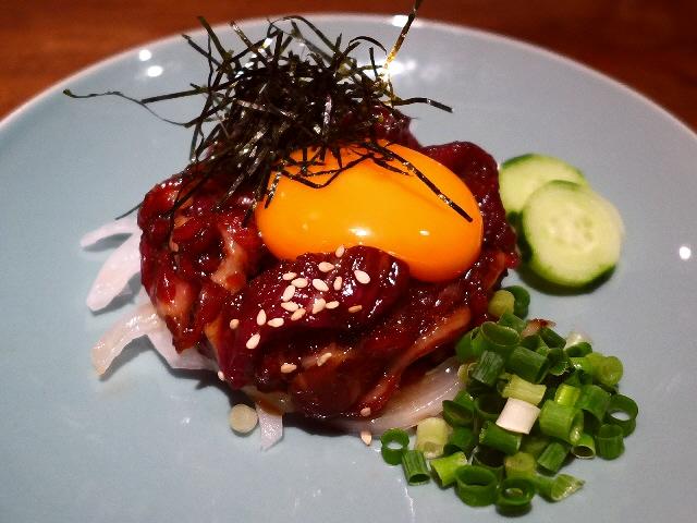 Mのディナー  鮮度抜群の絶品馬肉料理が楽しめます!  心斎橋  「居酒屋 梅の湯」