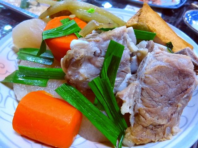 Mのディナーその2  島の誰からも愛される郷土料理が絶品のお店  奄美大島  「喜多八」
