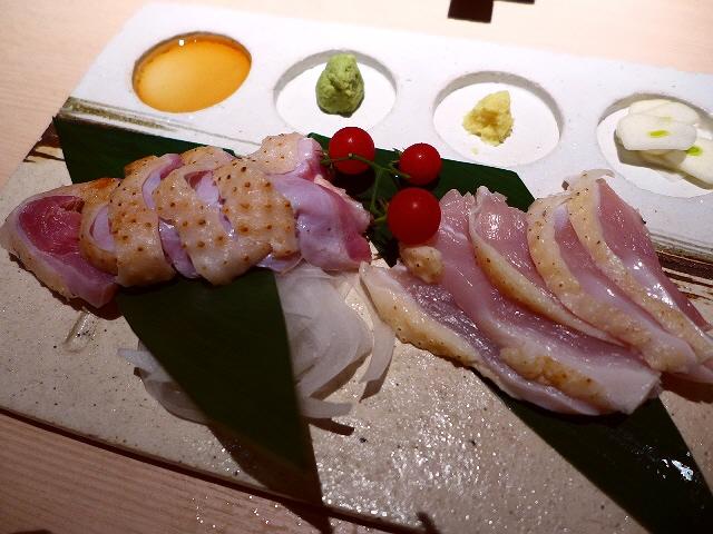 Mのディナー  地鶏の一品料理と絶品ふわふわ親子丼が楽しめます!   阪急うめだ本店  「吹上舎」