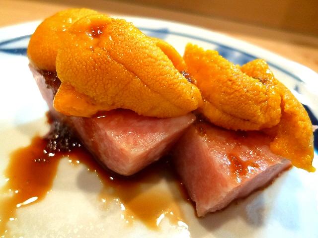 Mのディナー  こんな世界があったなんて!天然素材の魚介類の数々に衝撃です!  宗右衛門町  「樽鮓」