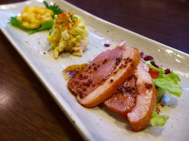 Mのディナー  夏の宴会コースは猛烈にお値打ちです!  北区豊崎  「情熱うどん 讃州」