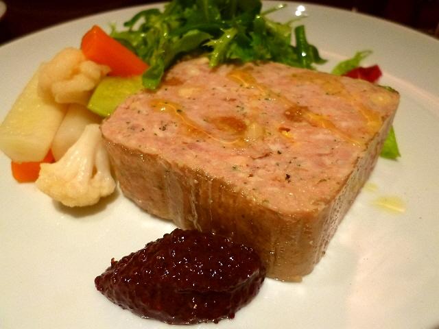 Mのディナー  大人気のガッツリ系フレンチに超久しぶりに行ってきました! 西区江戸堀  「L'HEURE BLEUE (ルール・ブルー)」