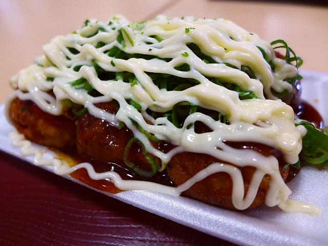 Mのディナー  こだわりのたこ焼きは中トロトロでめちゃ旨でした!  京都府相楽郡  「月の茶屋」