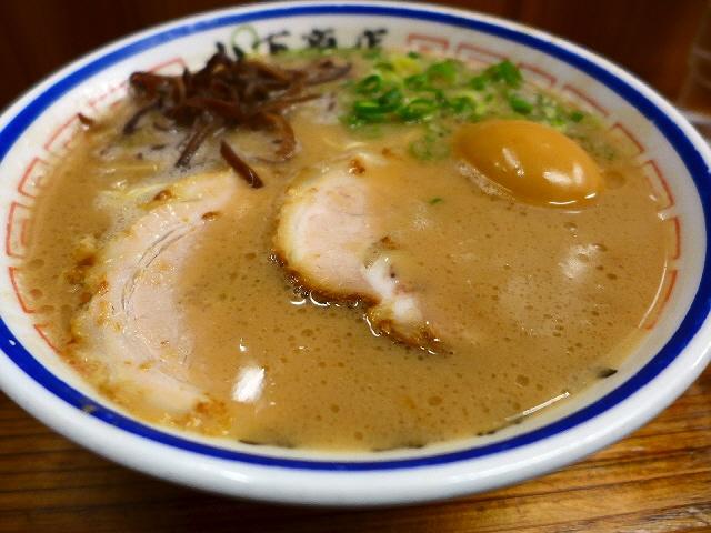 Mのディナー  超濃厚豚骨は奇をてらわない正統派で懐かしい味わいです!  岡山県  「山下商店」